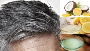 płukanka na siwe włosy